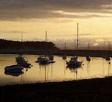 Findhorn Boats by Euan1989