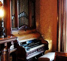 Pipe Organ in Living Room by Susan Savad