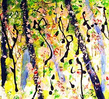 Arts of Nature Painting - Spring Aspiration by gilbertlamm