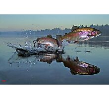 Dance of the Trout Photographic Print