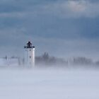 Gedser Lighthouse  by RosiePosie