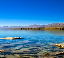 Lake Tekapo, New Zealand by Janine  Hewlett
