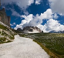 Lavaredo Three Peaks by coveredinice
