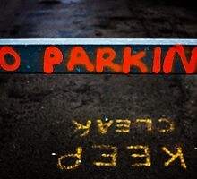 No parking by Mark  Coward
