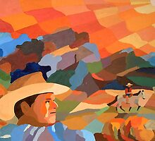 Cowboys by Lowell Smith