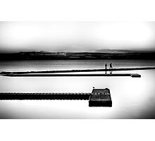 Black & White Sunset Photographic Print