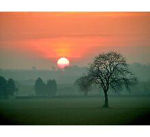 """'Greetings', said the Sun"" Photographic Print"