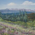 Summer on the Top of Hungry Hill by Constance Widen