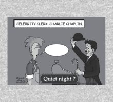 Celebrity Clerk: Chalie Chaplin by Mike Spicer