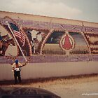 Harmel Ranch Mural,Seymour Texas by Billy Ines