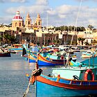 Fishing boats of Malta by zumi