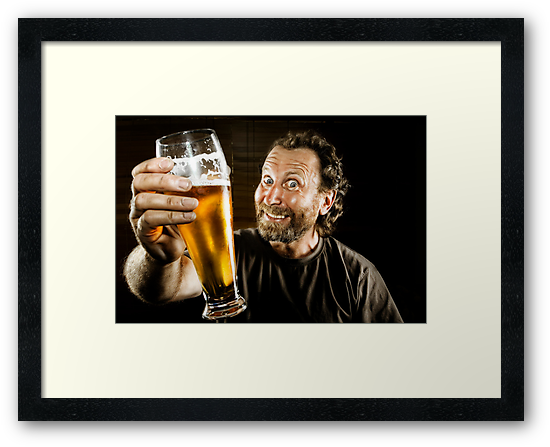 Happiness is in the eye of the Beer Holder ;-) by Mick Smith