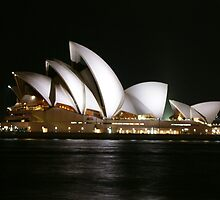 Opera House at Night by ScottyL