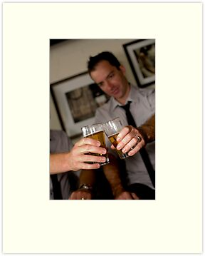 Beer - the relaxation potion of a wedding day by Mark Elshout