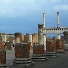 Pompeii Pillars by Terra Berlinski