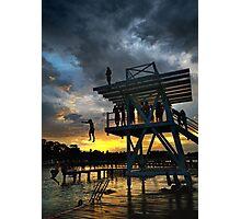 Heatwave Evening Photographic Print
