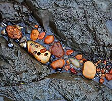 Rock-filled Crevice by Terry Watts