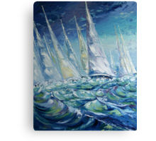 Regatta II Canvas Print