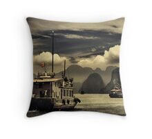 Halong Bay #0301 Throw Pillow