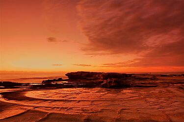 Shelley Beach by GabrielK