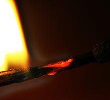 Burning Match by loz788