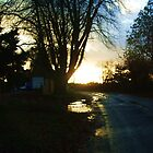 Sunset at Old Crawley Road  by Gemmka