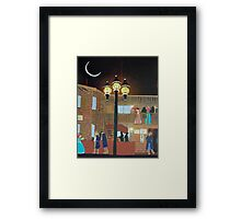 Shantytown Framed Print
