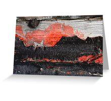 Volcano ErupTion sinks Luxury Liner Greeting Card