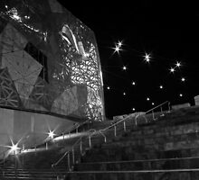 Federation Square by Nicoletté Thain Photography