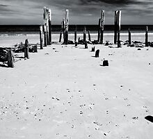 Port Willunga 1 (bw) by Werner Padarin