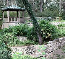 Gazebo at Rainbow Springs State Park by AuntDot