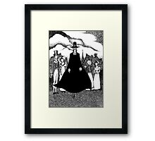 The Minister's Black Veil Framed Print
