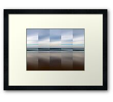 Changing With The Tide - Polyptych Framed Print