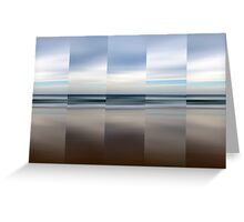 Changing With The Tide - Polyptych Greeting Card