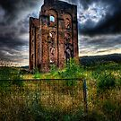 Lithgow Blast Furnace Ruin by Ian English