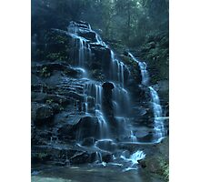 Empress Falls, Valley of the Waters, Blue Mountains Photographic Print