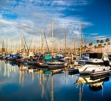 Long Beach Marina by Andrei I. Gere