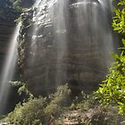 Wentworth Falls, Blue Mountains, Australia by Keith Robinson