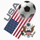 USA Soccer Team by worldcup