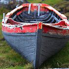Traditional Currach Fishing Boat . Ireland by EUNAN SWEENEY