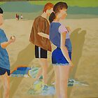 Andy and Jennie - a beach barbie by Phil Summers