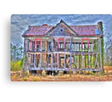 Nobody's Home Canvas Print