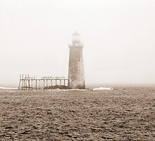Rams Head Lighthouse by Rose DeVore