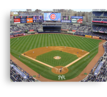 Yankee Stadium April 4, 2009 Cubs Vs Yankees Canvas Print