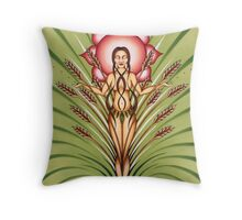 Goddess of Earth Throw Pillow