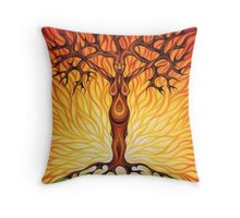 Goddess of Fire Throw Pillow