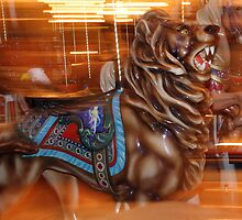 Carousel Lion by Jennifer Chan