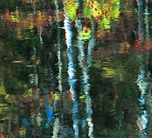 AUTUMN REFLECTION by Chuck Wickham