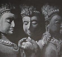 Buddha Thailand by ziagrace