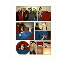 HSC Major Work Director's Cut Page 1 Art Print
